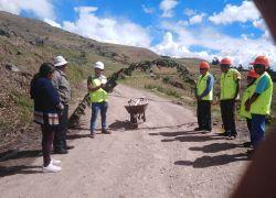 Mantenimiento rutinario de Camino Vecinal tramo: ACOMAYO – LLAPAYPAMPA – HUAYQUI